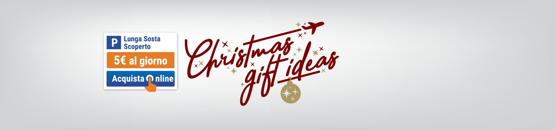 Banner di promozione natalizia